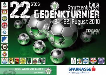 Pozvánka na 22. ročník medzinárodného mládežníckeho turnaja Hansa Strutzenbergera