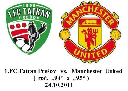 f3566599e9d92 1.FC Tatran Prešov a Manchester United - Futbalove kluby