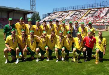 MŠK Žilina U17 Majstri 1.liga mladší dorast 2011/12