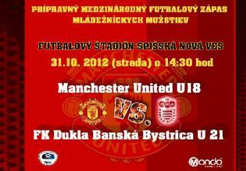 Manchester United U18 vs Dukla Banská Bystrica U21